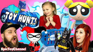 toy hunt wal mart paw patrol powerpuff girls pj masks surprise