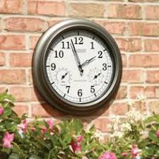 the 24 outdoor lighted atomic clock the 24 outdoor lighted atomic clock hammacher schlemmer gadgets