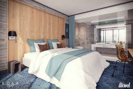 Open Bathroom Design by Hotel Room Bedroom With Open Bathroom Design Iliard Interior