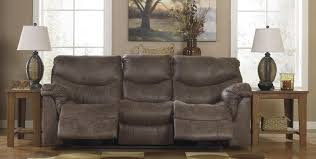 Klaussner Walker Sofa Signature Design By Ashley 7140088 Alzena Series Reclining Faux