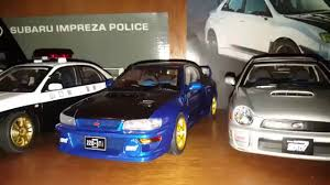 subaru autoart subaru wrx sti diecast rally collection updated 12 31 15 youtube