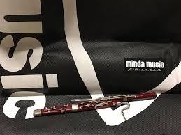 mindamusic store minature bassoon ornament ornaments