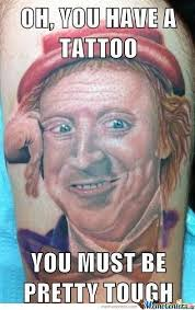 Bad Tattoo Meme - 20 extremely permanent awesome meme tattoos gallery ebaum s world