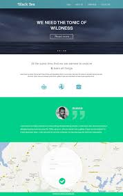 16 premium and free psd website templates flat style flat