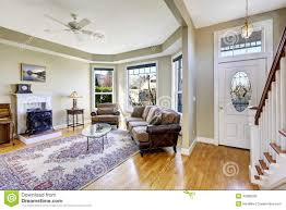 Interior Design Open Floor Plan House Interior With Open Floor Plan Living Room And Entrance Ha