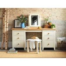 The Brick Vanity Table Mottisfont Painted Large Dressing Table Set Cream Dressing