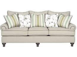 paula deen sectional sofa paula deen by craftmaster living room three cushion sofa p711750bd