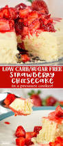 sugar free desserts for thanksgiving low carb sugar free crustless cheesecake in the pressure cooker