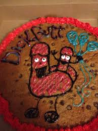 happy birthday cookie cake funny