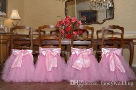 tutu chair covers custom made 2017 satin tulle tutu chair covers vintage