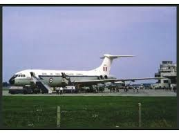 bureau v inaire concorde postcard royal air vc 10 jjpostcards com