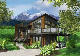 Contemporary House Plans by Plan 22392dr Contemporary House Plan With Sunken Foyer