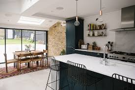Ideas For Kitchen Extensions Terrace Home Tour Side Return Extensions And Kitchens