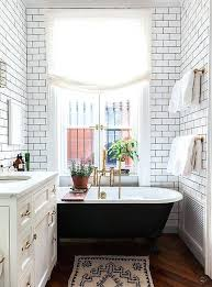 bathroom ideas with clawfoot tub clawfoot tub idea floor drain means no back shower curtain