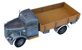 Toner Opel asiatam modellbau at wehrmachts lkw 3 tonner metall 1 16 allrad