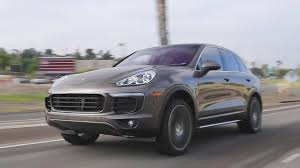 porsche suv 2017 2017 porsche cayenne review and road test youtube
