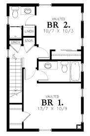 29 simple small house floor plans 2 bed simple two bedrooms house