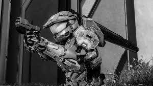 video games magnum grayscale halo 4 wallpaper 1920x1080 189506