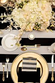 black and gold centerpieces for tables best 25 black gold