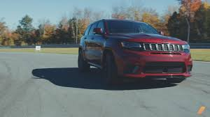 hellcat jeep white 2018 jeep grand cherokee trackhawk review the hellcat jeep