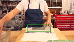 how do you sharpen kitchen knives 3 ways to sharpen a kitchen knife wikihow