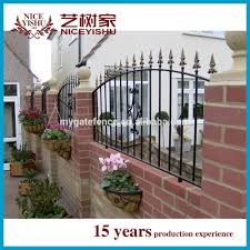 cheap fence panels iron grill design for boundary wall cheap