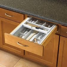 Cabinet Drawer Organizers Kitchen Shop Knape U0026 Vogt 17 25 In X 15 25 In Plastic Multi Use Insert
