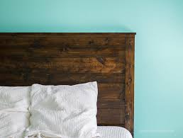 Homemade Wood Stain Learn To Make Natural Stain At Home by How To Make A Diy Rustic Headboard