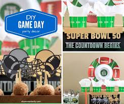 football party decorations diy football party decorations free cricut explore cut files