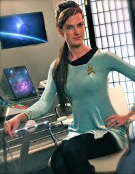 Star Trek Halloween Costume Custom Star Trek Tos Female Skant Cosplay Costume Uniform