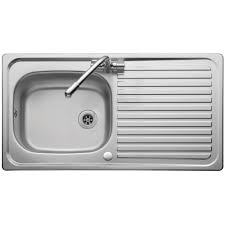 Kitchen Sink Top Kitchen Sinks Drop In Sink Single Bowl Corner Bone Nickel