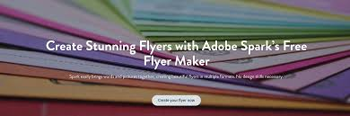 flyer maker create beautiful flyers for free adobe spark