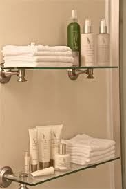 Glass Shelves For Bathrooms Bathroom Shelves From Target Bed Room Bathroom Pinterest