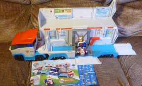 paw patroller paw patrol vehicle opening unboxing review unboxalot