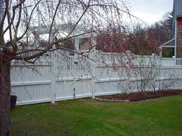 New England Backyards by New England Woodworkers Custom Fence Company For Picket Fences