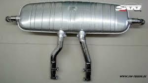 Porsche Cayenne Exhaust - sw exhaust stainless steel muffler for porsche cayenne s 957