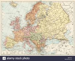 Map Of Europe 1648 by Europe 19th Century Map Stock Photos U0026 Europe 19th Century Map