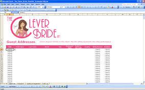 Wedding Invite Spreadsheet 15 Useful Wedding Spreadsheets Excel Spreadsheet Part 2