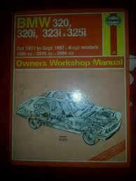 bmw e21 u0026 e30 haynes workshop manual book for 320 320i 323i and