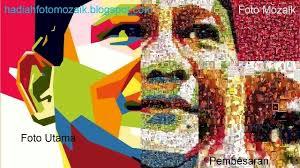 tutorial edit foto mozaik jasa foto mozaik kado ulang tahun atau hadiah pernikahan jasa