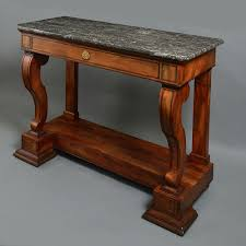 Mahogany Console Table An Early 19th Century Charles X Period Mahogany Console Table