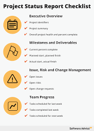 reporting requirement template how to create the perfect project status report checklist download checklist