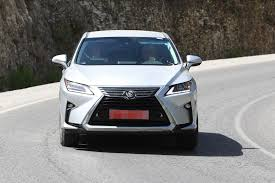 lexus es 2018 spyshots 2018 lexus rx facelift spied for the first time tokyo