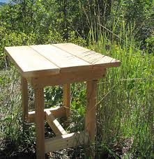 Western Red Cedar Outdoor Furniture by End Table Kit Western Red Cedar Unfinished By Gardenfurnituremill