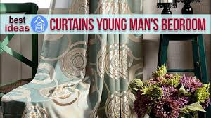 Young Man Bedroom Design Simple Curtain Design For Young Man U0027s Bedroom Best Ideas