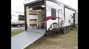 xlr viper 305v16 toy hauler 16 u0027 garage call hunter now 1 231 286
