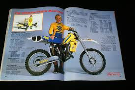 mark barnett 1983 rm 125 suzuki rm full floaters pinterest