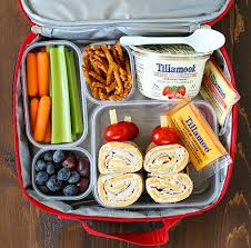 and easy lunch box ideas for school or work