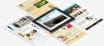 website templates from the serif template store