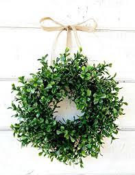 boxwood wreath mini window wreath mini boxwood wreath country cottage wreath